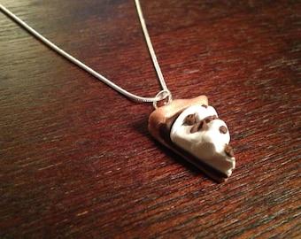 French Silk Pie Charm Necklace