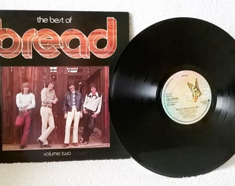 BREAD-The Best Of Bread Vol2-1974-vinyl-david gates-folk-soft rock-Guitar Man-EX/EX