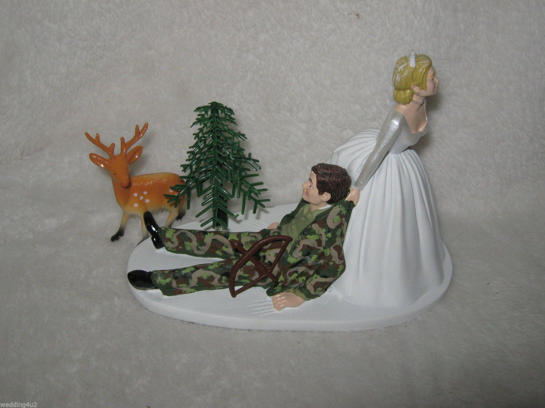 Wedding Reception Party Camo Deer Bow Arrow Hunting Hunter