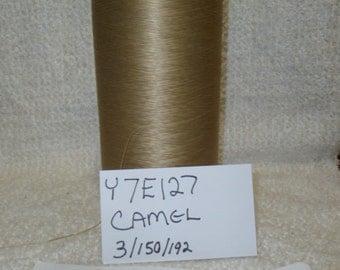 Y7E127  Camel Polyester Yarn