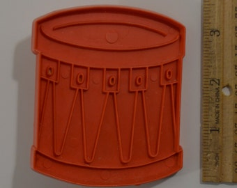 """Vintage STANLEY HOME PRODUCTS Snare Drum Christmas Cookie Cutter 