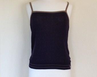 90s Vintage X-Girl Knit Tank Top