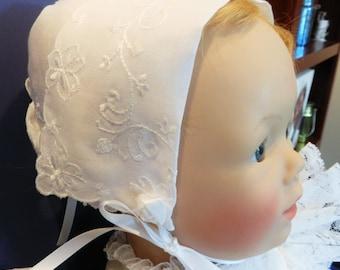 Magic Handkerchief Keepsake Baby Bonnet