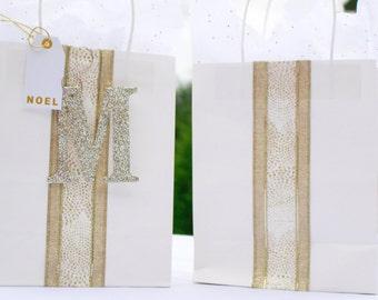 Peronailized Monogram Gift Bag
