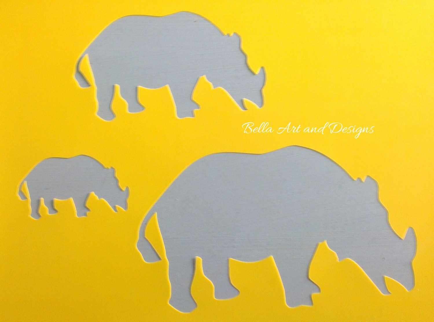 list 4 animal stencils free gift with every order from
