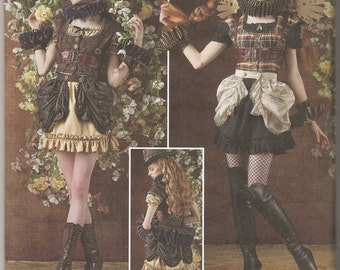 Simplicity sewing pattern 8075 Arkivestry Haunt Couture steampunk fairy costume Victorian sizes 6-14