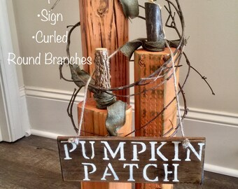 Pumpkin-Halloween/Fall & Harvest Wooden Decor