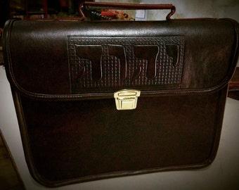 Handmade Artisan Briefcase