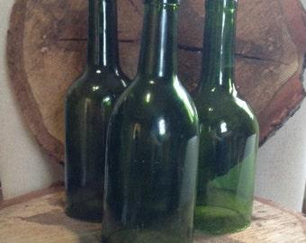GREEN Wine Bottle Hurricane