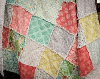 Kate Spain Canyon Throw Quilt