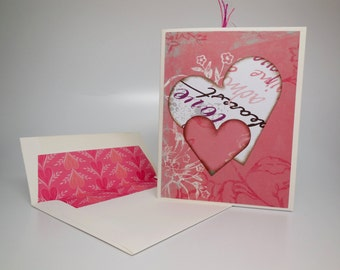 Greeting Card~blank yet w/ love...