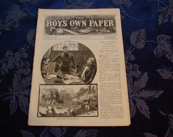 The Boys Own Paper No. 390 July 3, 1886