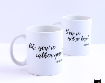 Sherlock & The Woman Mugs