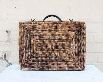 Handwoven Briefcase, Attache, Laptop Bag