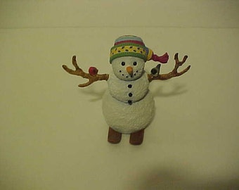 Lenox Winter Fun Snowman Sculpture-Snow Kids-Lynn Bywaters Art-Adorable! Sale Price reduction