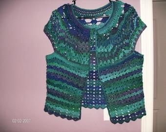Pineapple stitch Vest