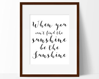 Motivational art for office, Happiness Poster, Printable Art, Bedroom Art, Housewarming Gift, Black & White Print, Digital Download
