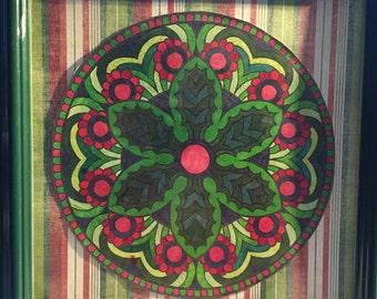 Christmas Mandala Design