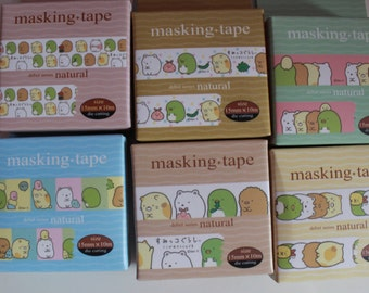 Kawaii/ Cute Sumikko Gurashi Washi/ Masking tape