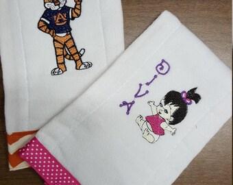 Customized Burp Cloth