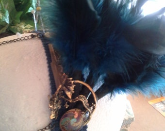 Custom made Headpiece for Tribal Fusion Belly Dancer
