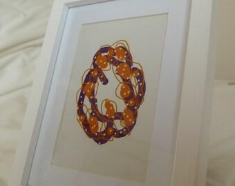 Digital Drawing - Framed Print #2