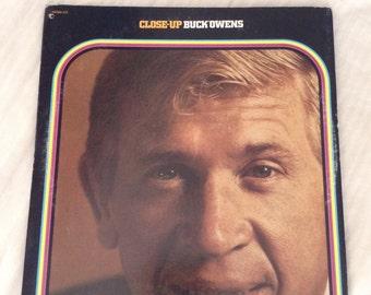 Buck Owens Close Up vinyl album, album, vinyl, record