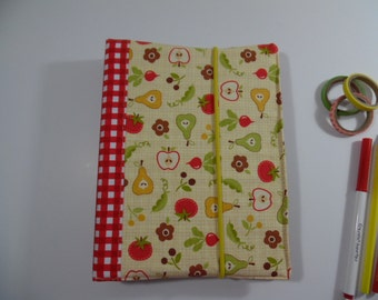 Fabric Covered 3 Ring Binder/ Planner / Personal Organizer/ Journal/ A5 size
