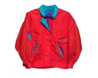 Vintage Izzi Red Jacket Small/Medium FREE SHIPPING!