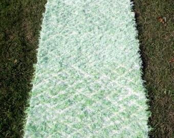 Estonian handmade rug rags, cotton