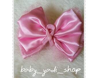 Cancer Awareness Pink Bow