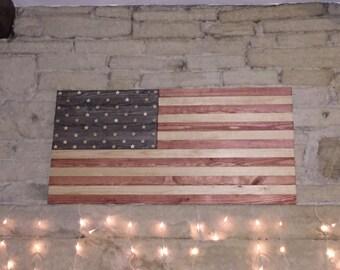 Stars and Stripes U.S Flag Wall Art