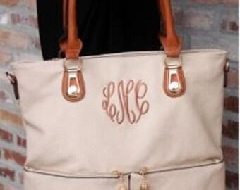 Monogrammed Pearson Tote - Ladies Handbag