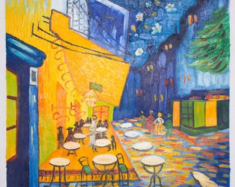Van Gogh Café Terrace at Night