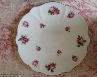 Vintage 'Roses' Plate