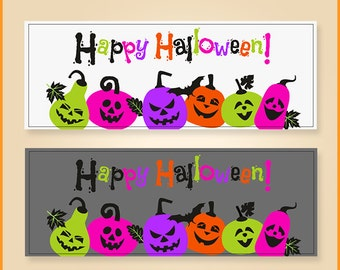 Halloween Facebook timeline cover - INSTANT DOWNLOAD