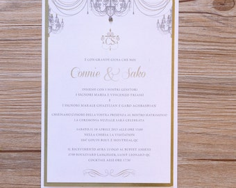 Chandelier Wedding Invitation, Chandelier Invitation, Chandelier Wedding Invitations, Chandelier Invitations, Chandelier Wedding Invites