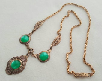 Deco style necklace