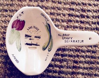 Vintage China Gravy Separator made in Japan