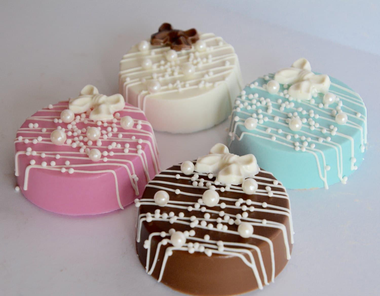 chocolate baby shower oreos 12 new baby favors wedding chocolate