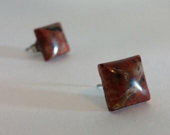 Redstone Earrings