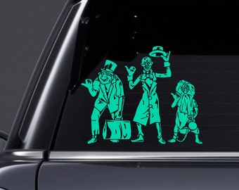 Hitchhiking Ghosts Inspired Vinyl Decal