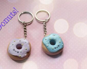 Donut Keychain Set