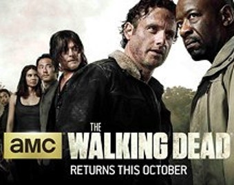 The Walking Dead Season6 All Roles 56x19Poster