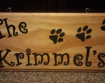Custom Name wood Plaques!