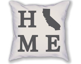 California Home State Pillow