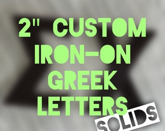 iron on greek letters custom 3 inch letter iron on decal in by alouettedsigns 14070 | il 340x270.859297775 25yi