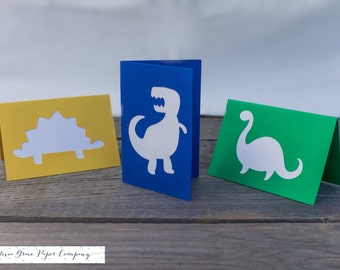 Dinosaur Lunchbox Note Cards, Set of 10