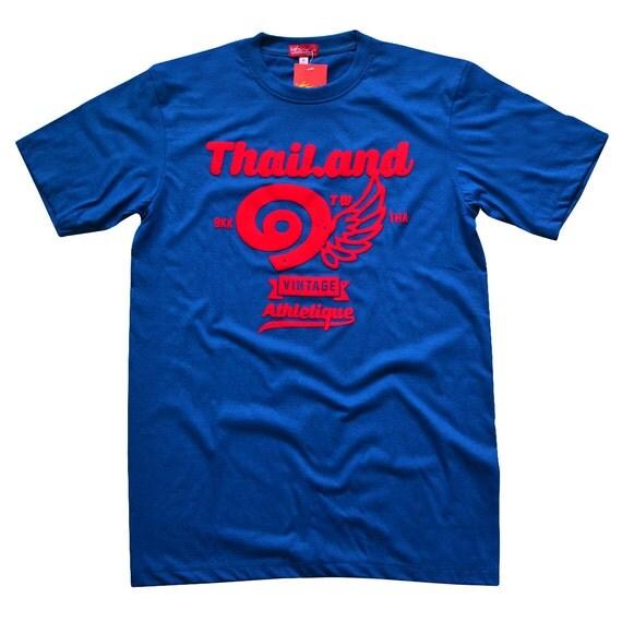 TepThaiTewa : Thailand ๑ Vintage Athletique Men's T-Shirt