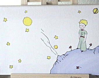 The little prince painting